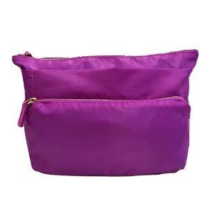 Sonia Kashuk Purple Cosmetic Bag